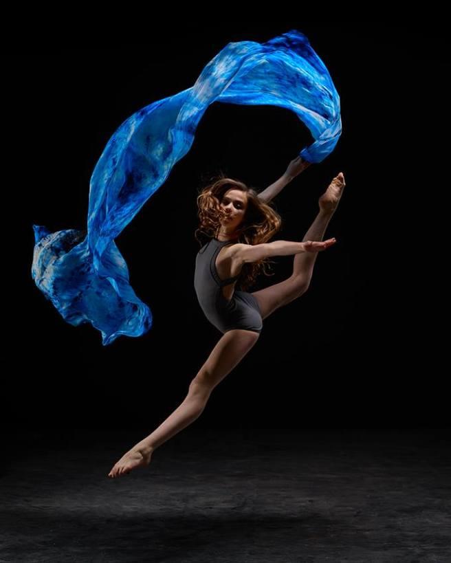 Blue Water Silk