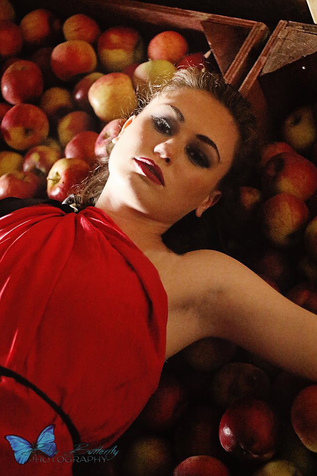 Apples and Red Silk